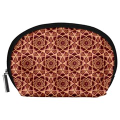 Flower Star Pattern  Accessory Pouches (large)
