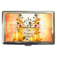 Happy Thanksgiving With Pumpkin Cigarette Money Cases