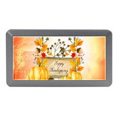 Happy Thanksgiving With Pumpkin Memory Card Reader (mini)