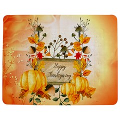 Happy Thanksgiving With Pumpkin Jigsaw Puzzle Photo Stand (rectangular)