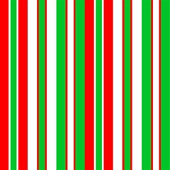 Christmas Holiday Stripes Red Magic Photo Cubes