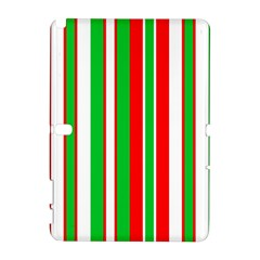 Christmas Holiday Stripes Red Galaxy Note 1
