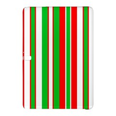Christmas Holiday Stripes Red Samsung Galaxy Tab Pro 12 2 Hardshell Case