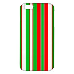 Christmas Holiday Stripes Red Iphone 6 Plus/6s Plus Tpu Case