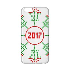 Snowflake Graphics Date Year Apple Iphone 6/6s Hardshell Case