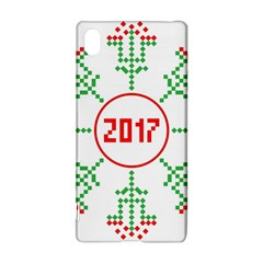 Snowflake Graphics Date Year Sony Xperia Z3+