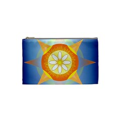 Star Pattern Background Cosmetic Bag (small)