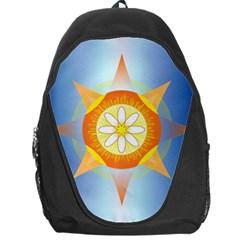 Star Pattern Background Backpack Bag