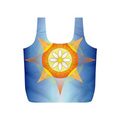Star Pattern Background Full Print Recycle Bags (s)