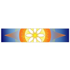 Star Pattern Background Small Flano Scarf