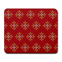 Pattern Background Holiday Large Mousepads