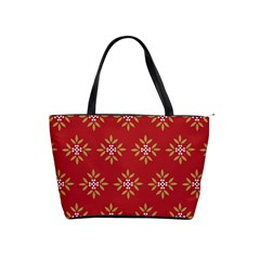 Pattern Background Holiday Shoulder Handbags
