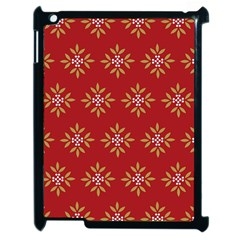 Pattern Background Holiday Apple Ipad 2 Case (black)