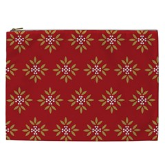 Pattern Background Holiday Cosmetic Bag (xxl)
