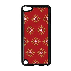 Pattern Background Holiday Apple Ipod Touch 5 Case (black)