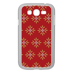 Pattern Background Holiday Samsung Galaxy Grand Duos I9082 Case (white)