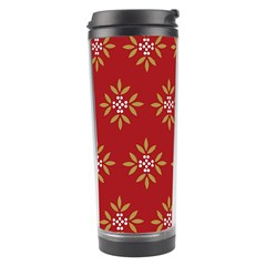 Pattern Background Holiday Travel Tumbler