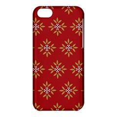 Pattern Background Holiday Apple Iphone 5c Hardshell Case