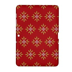 Pattern Background Holiday Samsung Galaxy Tab 2 (10 1 ) P5100 Hardshell Case