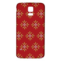 Pattern Background Holiday Samsung Galaxy S5 Back Case (white)
