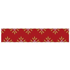 Pattern Background Holiday Small Flano Scarf