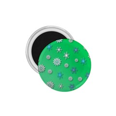 Snowflakes Winter Christmas Overlay 1 75  Magnets