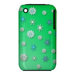 Snowflakes Winter Christmas Overlay Iphone 3s/3gs