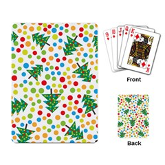Pattern Circle Multi Color Playing Card