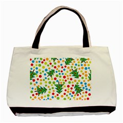 Pattern Circle Multi Color Basic Tote Bag