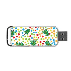 Pattern Circle Multi Color Portable Usb Flash (one Side)