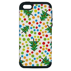 Pattern Circle Multi Color Apple Iphone 5 Hardshell Case (pc+silicone)