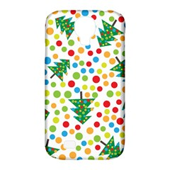 Pattern Circle Multi Color Samsung Galaxy S4 Classic Hardshell Case (pc+silicone)
