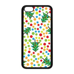 Pattern Circle Multi Color Apple Iphone 5c Seamless Case (black)