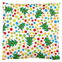 Pattern Circle Multi Color Standard Flano Cushion Case (two Sides)