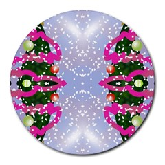 Seamless Tileable Pattern Design Round Mousepads