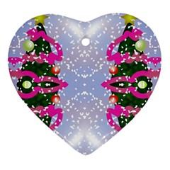 Seamless Tileable Pattern Design Ornament (heart)