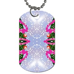 Seamless Tileable Pattern Design Dog Tag (two Sides)