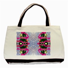 Seamless Tileable Pattern Design Basic Tote Bag