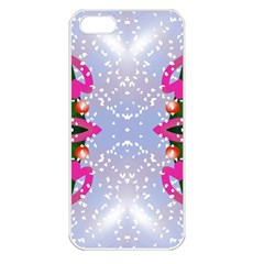 Seamless Tileable Pattern Design Apple Iphone 5 Seamless Case (white)