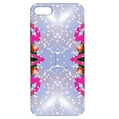 Seamless Tileable Pattern Design Apple Iphone 5 Hardshell Case With Stand