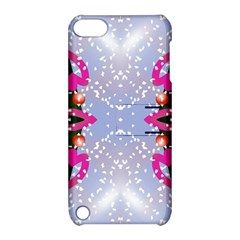Seamless Tileable Pattern Design Apple Ipod Touch 5 Hardshell Case With Stand
