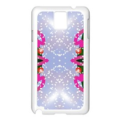 Seamless Tileable Pattern Design Samsung Galaxy Note 3 N9005 Case (white)