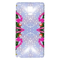 Seamless Tileable Pattern Design Galaxy Note 4 Back Case