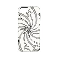 Star Christmas Pattern Texture Apple Iphone 5 Classic Hardshell Case (pc+silicone)