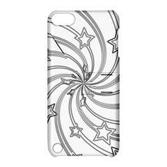 Star Christmas Pattern Texture Apple Ipod Touch 5 Hardshell Case With Stand
