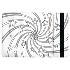 Star Christmas Pattern Texture Ipad Air 2 Flip