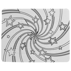 Star Christmas Pattern Texture Jigsaw Puzzle Photo Stand (rectangular)