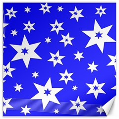 Star Background Pattern Advent Canvas 16  X 16