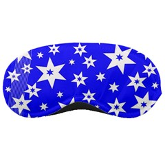 Star Background Pattern Advent Sleeping Masks