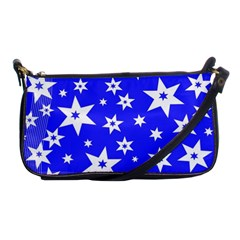 Star Background Pattern Advent Shoulder Clutch Bags